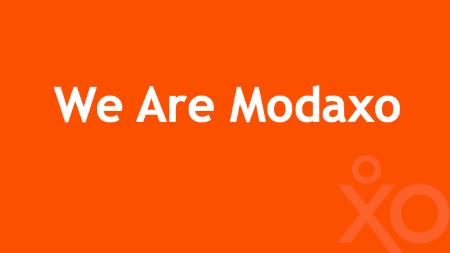 We Are Modaxo campaign image